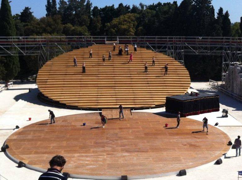 Sennheiser enfatizza la magia delle rappresentazioni nel Teatro Greco di Siracusa