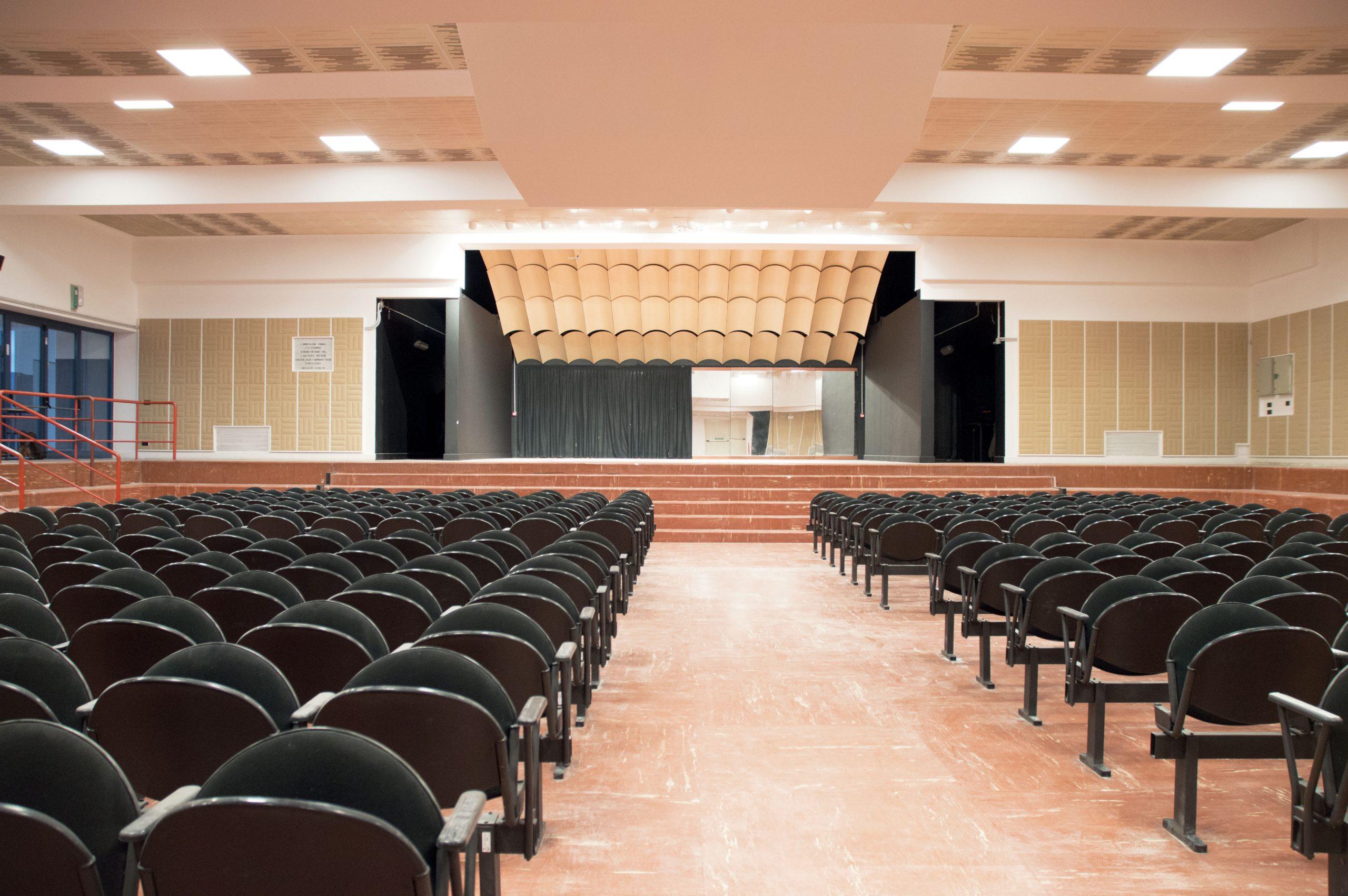 Auditorium Paolo Maggioni: un trattamento acustico per 'far suonare' la musica d'orchestra